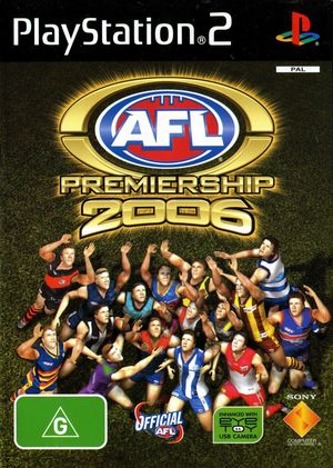 Cover for AFL Premiership 2006.