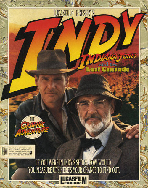 Cover for Indiana Jones and the Last Crusade: The Graphic Adventure.