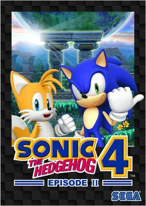 Cover for Sonic the Hedgehog 4: Episode II.