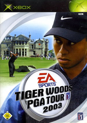 Cover for Tiger Woods PGA Tour 2003.