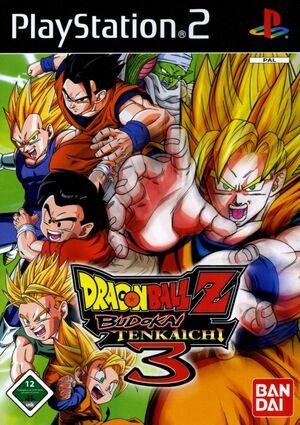 Cover for Dragon Ball Z: Budokai Tenkaichi 3.