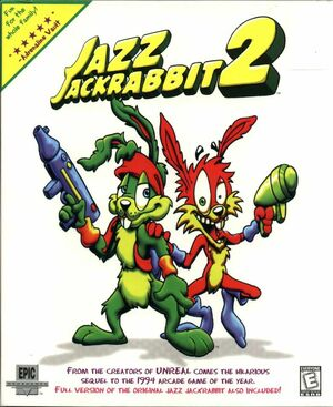 Cover for Jazz Jackrabbit 2.