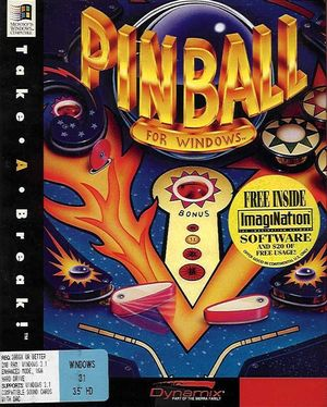 Cover for Take a Break! Pinball.