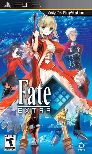 Cover for Fate/Extra.