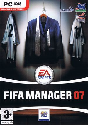 Cover for FIFA Manager 07.