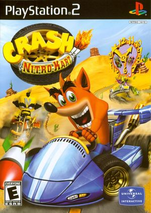Cover for Crash Nitro Kart.