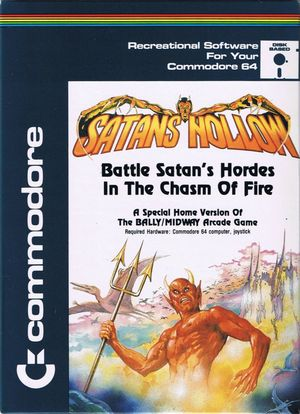 Cover for Satan's Hollow.