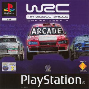 Cover for WRC: FIA World Rally Championship Arcade.