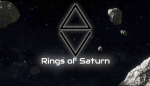 Cover for ΔV: Rings of Saturn.