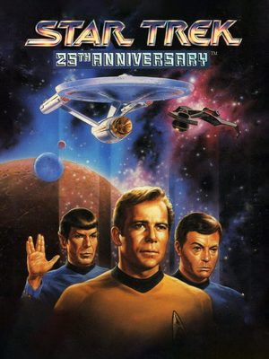 Cover for Star Trek: 25th Anniversary.