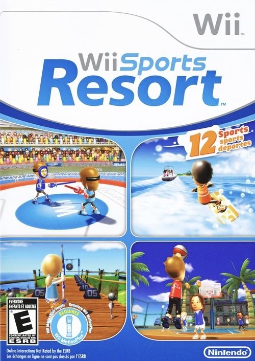 Cover for Wii Sports Resort.
