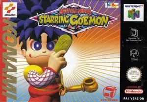 Cover for Mystical Ninja Starring Goemon.