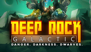 Cover for Deep Rock Galactic.