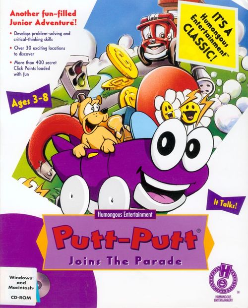 Cover for Putt-Putt Joins the Parade.