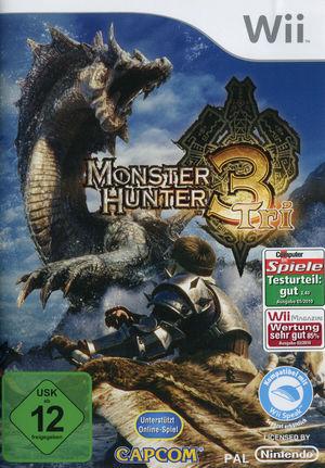Cover for Monster Hunter Tri.