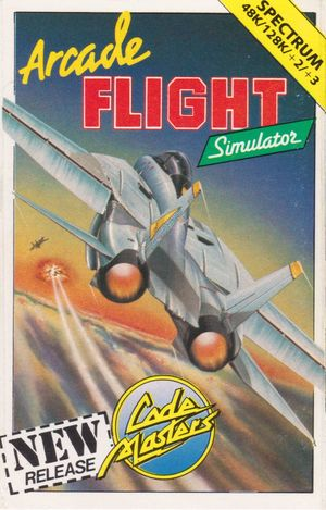 Cover for Arcade Flight Simulator.