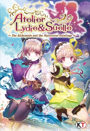 Cover for Atelier Lydie & Suelle: Alchemists of the Mysterious Painting.