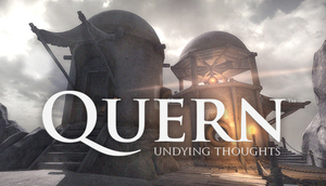 Cover for Quern - Undying Thoughts.