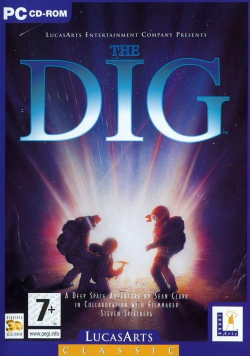 Cover for The Dig.