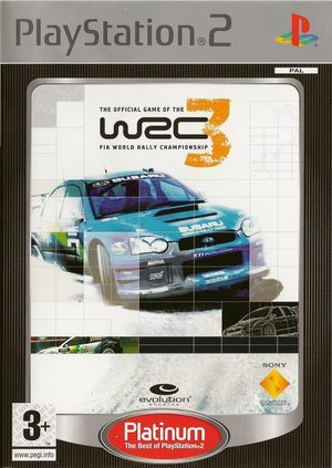 Cover for WRC 3.