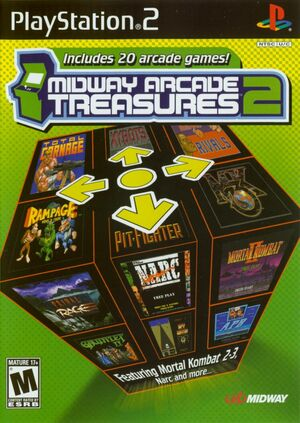 Cover for Midway Arcade Treasures 2.