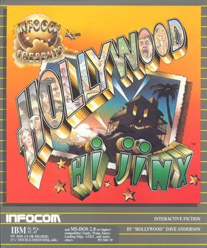 Cover for Hollywood Hijinx.