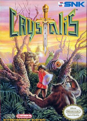 Cover for Crystalis.