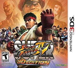 Cover for Super Street Fighter IV: 3D Edition.