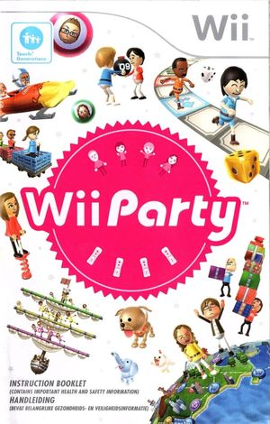 Cover for Wii Party.