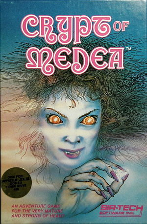 Cover for Crypt of Medea.