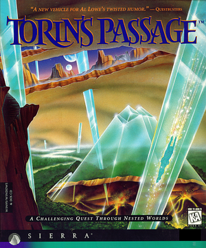 Cover for Torin's Passage.