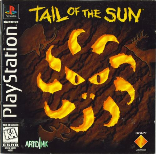 Cover for Tail of the Sun.