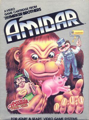 Cover for Amidar.