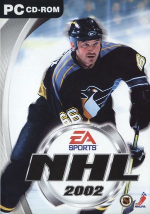 Cover for NHL 2002.
