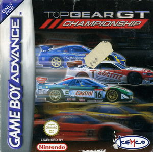 Cover for Top Gear GT Championship.