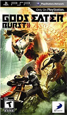 Cover for Gods Eater Burst.