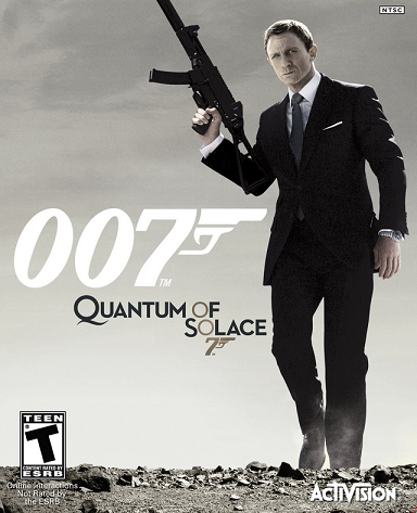 Cover for 007: Quantum of Solace.