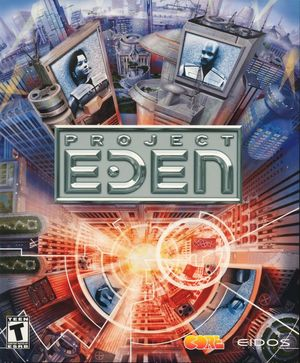 Cover for Project Eden.