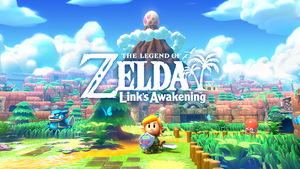 Cover for The Legend of Zelda: Link's Awakening.