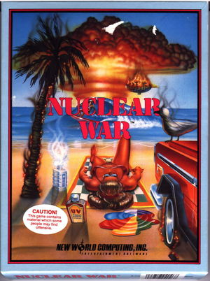 Cover for Nuclear War.