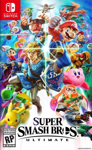 Cover for Super Smash Bros. Ultimate.