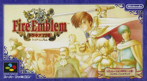 Cover for Fire Emblem: Thracia 776.
