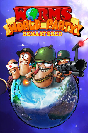 Cover for Worms World Party Remastered.