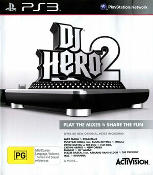 Cover for DJ Hero 2.