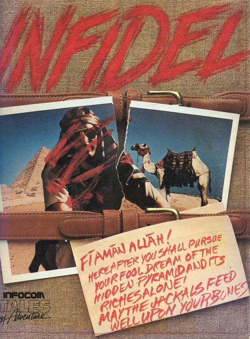Cover for Infidel.