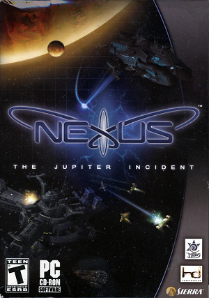 Cover for Nexus: The Jupiter Incident.