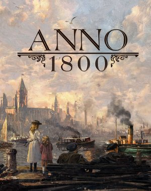 Cover for Anno 1800.