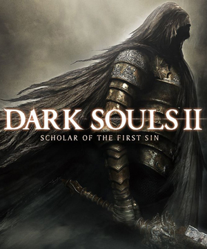 Cover for Dark Souls II: Scholar of the First Sin.