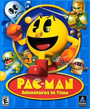 Cover for Pac-Man: Adventures in Time.