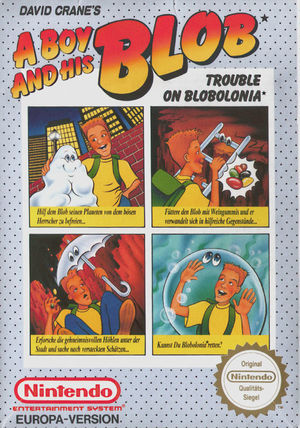 Cover for A Boy and His Blob: Trouble on Blobolonia.